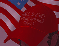 Hate Doesn't Make America Great