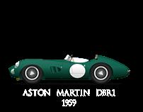 Aston Martin DBR1 1959