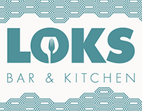 Loks Bar & Kitchen - Poster Artwork