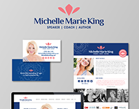 Michelle Marie King | Identity Rebrand & Web Redesign