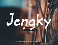 Jengky Fonts