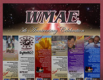 WMAE 5th Anniversary Ads 2014