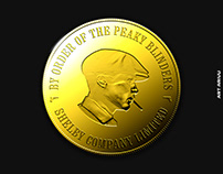 Peaky Blinders Coin Design