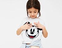 MANGO KIDS - Mickey Sequins T-shirts