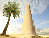 One of the landmarks of Iraq