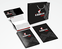 """Keskin Yapı"" Corporate identity design"