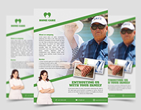 Home Care Flyer Template