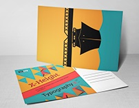 Typography Cards Collection