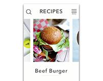 Recipe App Animation