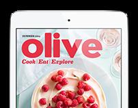 Olive iPad