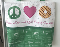 Official licensed Girl Scout products for Riley Blake