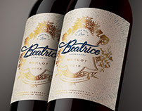 BEATRICE WINE LABEL - CHRISTMAS GIFT