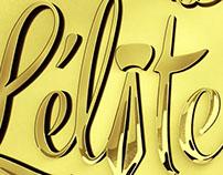 L'élite - logo by Sab-R