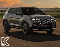 Hyundai Creta facelift and truck