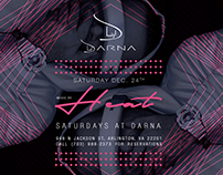 Flyer Adverts for Darna Lounge  - Dec 2016