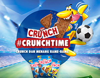 Nestle: #Crunch Time Digital Campaign