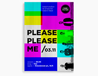 """poster for """"please please me"""""""
