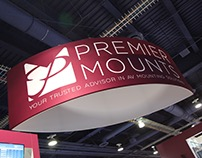 Premier Mounts Tradeshow Booth Design