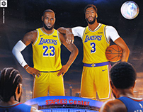 Battle of LA | NBA Tip-Off | Personal Work