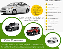 Car Hire Cairns to Townsville | 740313348 | alldaycarre