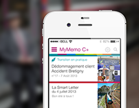 SNCF MyMemo
