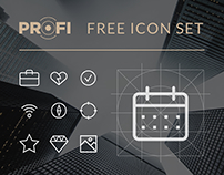 PROFI FREE ICON SET