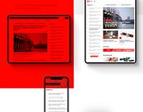 34 News website design