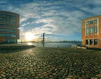 Hamburg City - Backplates & HDR Domes for CGI