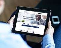Home Page for Employee Benefits Brokerage Firm