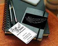 Logo + P. Card - High Dreams Tattoo Shop