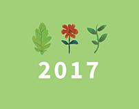 Calendario Botánico 2016