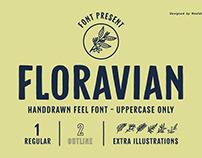 FLORAVIAN - Font