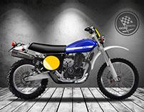 MOTO GORI SCRAMBLER CLASSIC 450