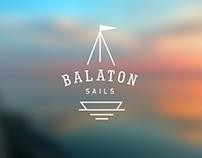 Balaton Sails logos