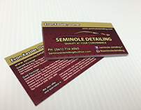 Seminole Detailing Print and Design