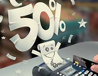 CIB Bank 50% Press Ad