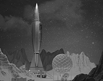 Vintage Rocket