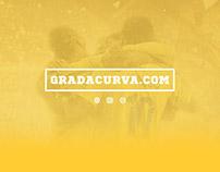 Grada Curva Logo Branding