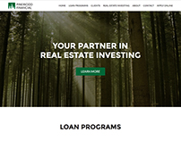 Pinewood Financial Website Design & Development