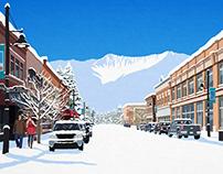 Fernie Ski Poster