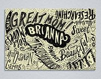 Brianna's Birthday Envelope