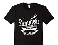 Summer Is Occation T-shirt