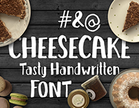 Cheesecake - Tasty Handwritten Font