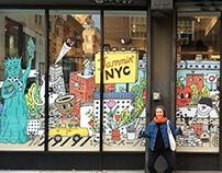Jammin' NYC -Mural