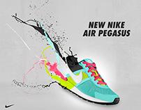 Nike Pegasus Artwork