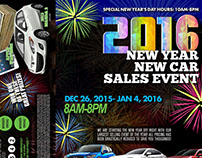 2016 New Year New Car Sales Event!