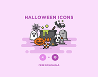 Download Free Halloween Vector Icons