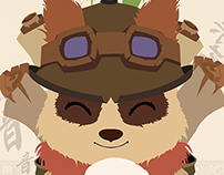Cover Teemo Flat Version