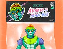 Atomic Man-Bat 「原子蝠人」玩具, 插畫, 設計