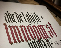 Calligraphy Practice 2